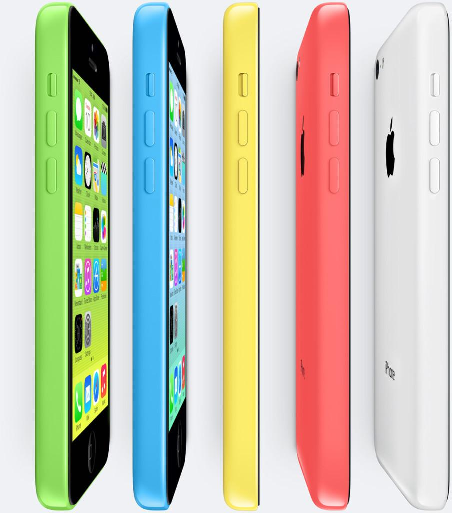Apple iPhone 5c Side Shot